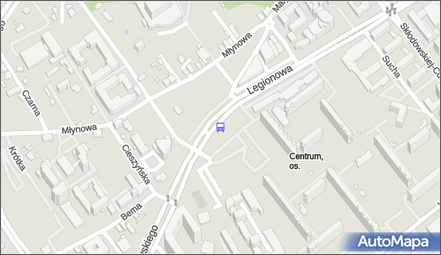 Przystanek prez.R.Kaczorowskiego/Opera i Filharmonia Podlaska. BKM - Białystok (id 222) na mapie Targeo