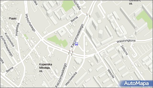 Przystanek prez.R.Kaczorowskiego/Waszyngtona. BKM - Białystok (id 221) na mapie Targeo