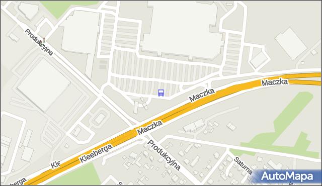 Przystanek Produkcyjna/Auchan. BKM - Białystok (id 363) na mapie Targeo