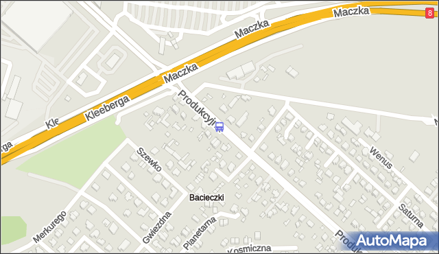 Przystanek Produkcyjna/Kleeberga. BKM - Białystok (id 359) na mapie Targeo