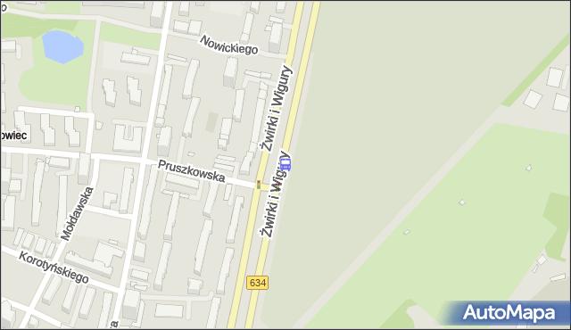 Przystanek Pruszkowska 02. ZTM Warszawa - Warszawa (id 403202) na mapie Targeo