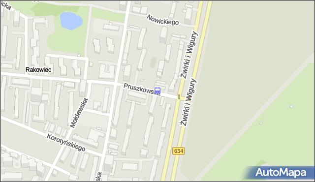 Przystanek Pruszkowska 04. ZTM Warszawa - Warszawa (id 403204) na mapie Targeo