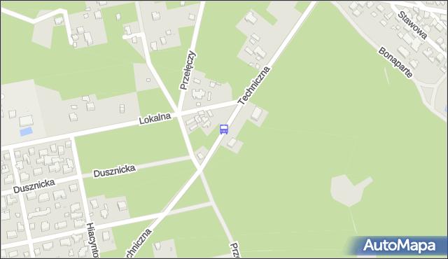 Przystanek Przełęczy 01. ZTM Warszawa - Warszawa (id 205001) na mapie Targeo