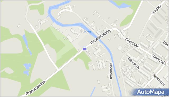 Przystanek Przybrzeżna nż 11. ZDiTM Szczecin - Szczecin (id 70611) na mapie Targeo