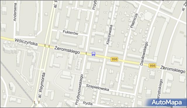 Przystanek Przybyszewskiego 02. ZTM Warszawa - Warszawa (id 602202) na mapie Targeo