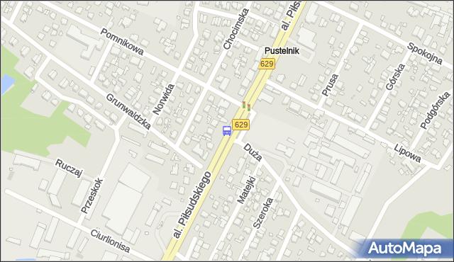 Przystanek Pustelnik 01. ZTM Warszawa - Warszawa (id 124001) na mapie Targeo