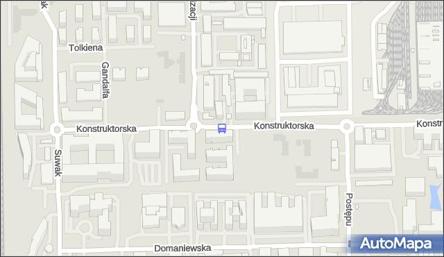 Przystanek Racjonalizacji 01. ZTM Warszawa - Warszawa (id 326001) na mapie Targeo