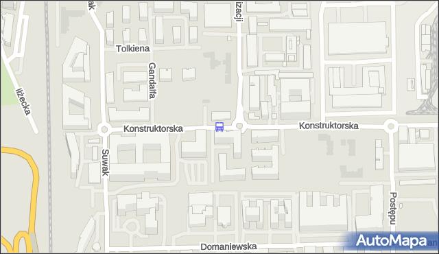 Przystanek Racjonalizacji 02. ZTM Warszawa - Warszawa (id 326002) na mapie Targeo