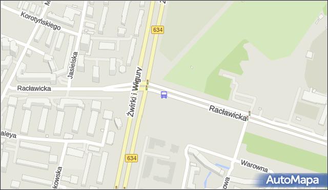 Przystanek Rakowiec 03. ZTM Warszawa - Warszawa (id 403303) na mapie Targeo