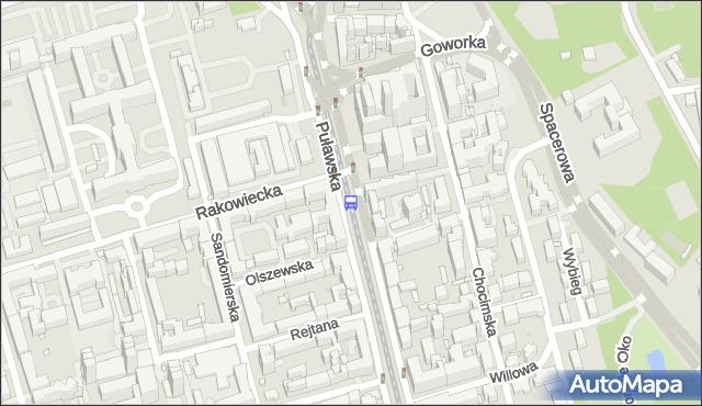 Przystanek Rakowiecka 06. ZTM Warszawa - Warszawa (id 300206) na mapie Targeo