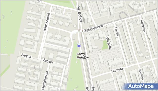 Przystanek Rakowiecka-Sanktuarium 01. ZTM Warszawa - Warszawa (id 328601) na mapie Targeo