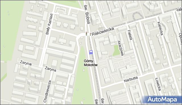 Przystanek Rakowiecka-Sanktuarium 03. ZTM Warszawa - Warszawa (id 328603) na mapie Targeo