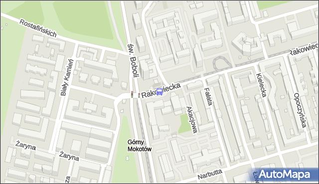 Przystanek Rakowiecka-Sanktuarium 06. ZTM Warszawa - Warszawa (id 328606) na mapie Targeo