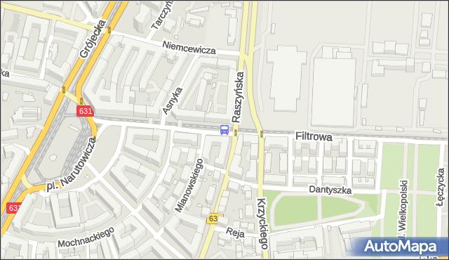 Przystanek Raszyńska 03. ZTM Warszawa - Warszawa (id 402803) na mapie Targeo