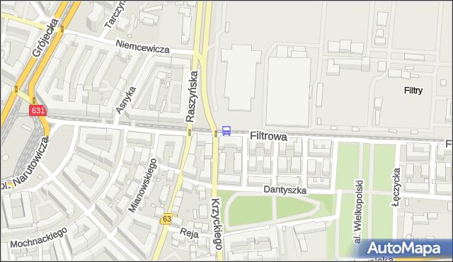 Przystanek Raszyńska 04. ZTM Warszawa - Warszawa (id 402804) na mapie Targeo