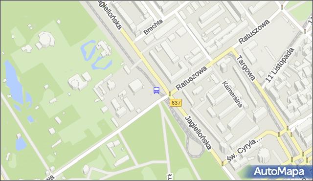 Przystanek Ratuszowa-ZOO 01. ZTM Warszawa - Warszawa (id 100401) na mapie Targeo