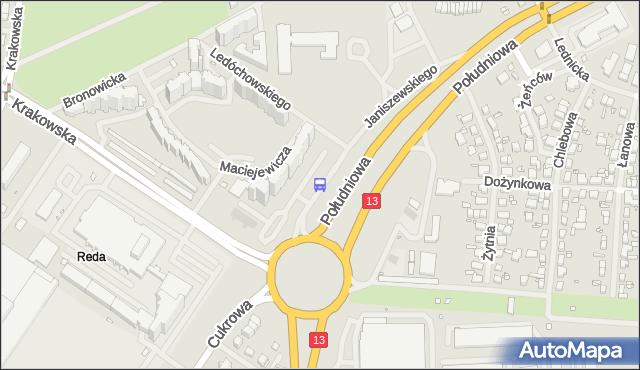 Przystanek Reda 11. ZDiTM Szczecin - Szczecin (id 23711) na mapie Targeo
