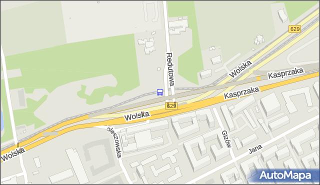 Przystanek Reduta Wolska 05. ZTM Warszawa - Warszawa (id 500905) na mapie Targeo