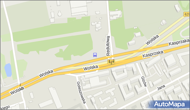 Przystanek Reduta Wolska 06. ZTM Warszawa - Warszawa (id 500906) na mapie Targeo