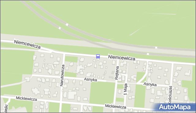 Przystanek Rejtana 02. ZTM Warszawa - Warszawa (id 228002) na mapie Targeo