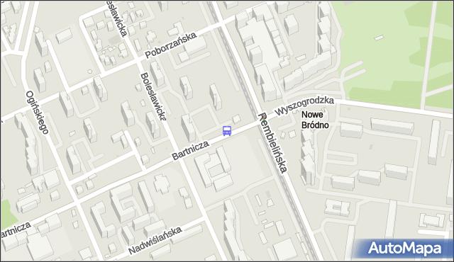 Przystanek Rembielińska 01. ZTM Warszawa - Warszawa (id 108301) na mapie Targeo