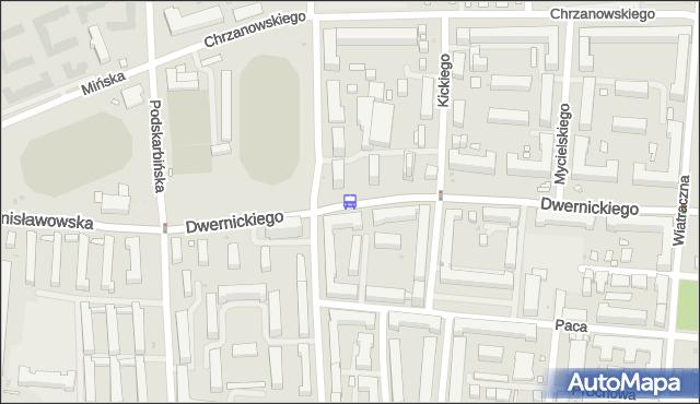 Przystanek RKS Orzeł 01. ZTM Warszawa - Warszawa (id 211501) na mapie Targeo