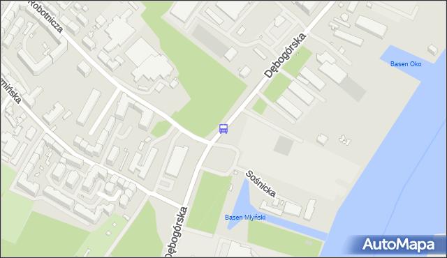 Przystanek Robotnicza 11. ZDiTM Szczecin - Szczecin (id 40111) na mapie Targeo