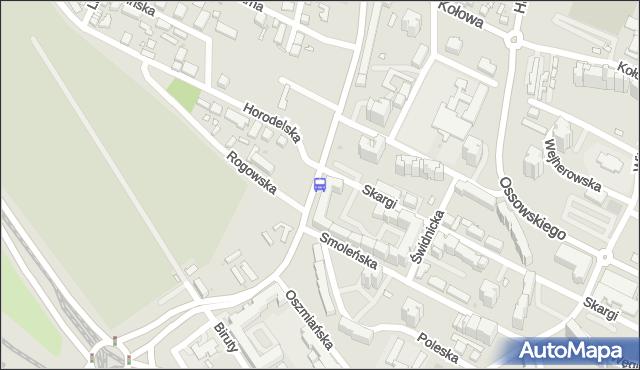 Przystanek Rogowska 02. ZTM Warszawa - Warszawa (id 114202) na mapie Targeo