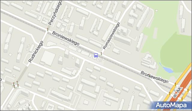 Przystanek Romaszewskiego 03. ZTM Warszawa - Warszawa (id 604303) na mapie Targeo