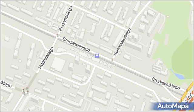 Przystanek Romaszewskiego 04. ZTM Warszawa - Warszawa (id 604304) na mapie Targeo