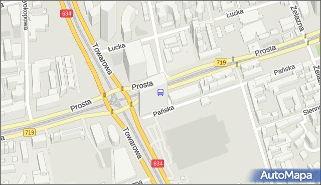 Przystanek rondo Daszyńskiego 01. ZTM Warszawa - Warszawa (id 504001) na mapie Targeo