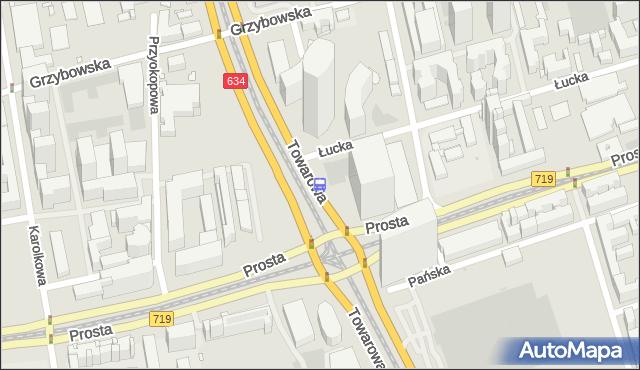 Przystanek rondo Daszyńskiego 04. ZTM Warszawa - Warszawa (id 504004) na mapie Targeo