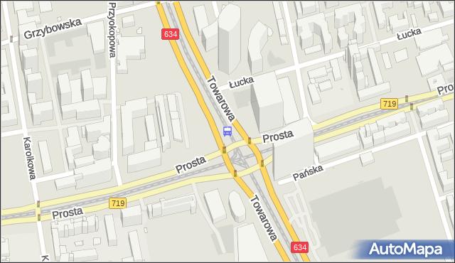 Przystanek rondo Daszyńskiego 05. ZTM Warszawa - Warszawa (id 504005) na mapie Targeo