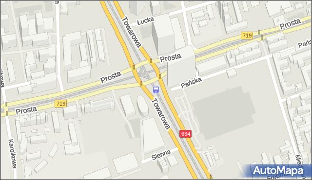 Przystanek rondo Daszyńskiego 06. ZTM Warszawa - Warszawa (id 504006) na mapie Targeo