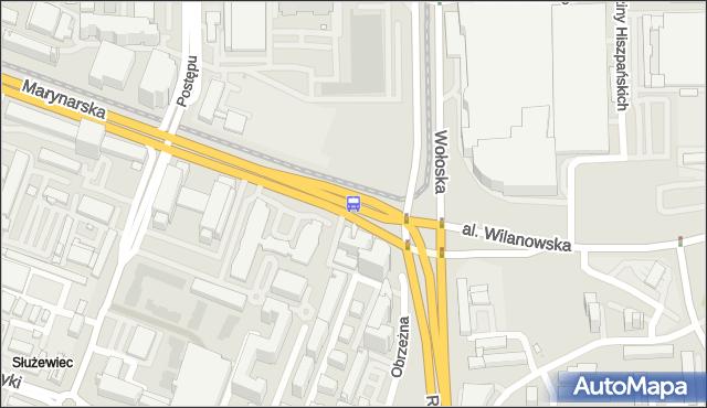 Przystanek rondo Unii Europejskiej 02. ZTM Warszawa - Warszawa (id 324302) na mapie Targeo