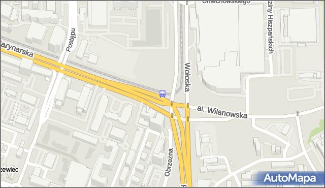 Przystanek rondo Unii Europejskiej 03. ZTM Warszawa - Warszawa (id 324303) na mapie Targeo