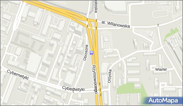 Przystanek rondo Unii Europejskiej 05. ZTM Warszawa - Warszawa (id 324305) na mapie Targeo