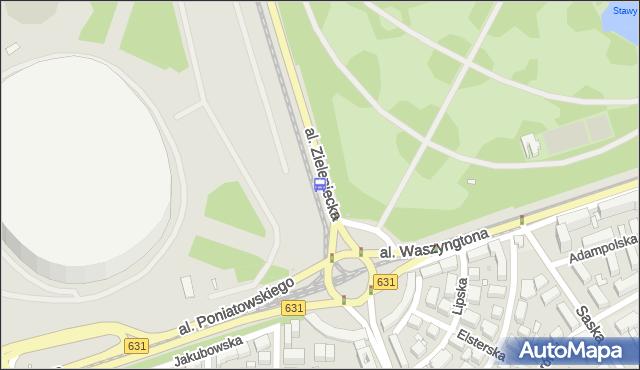 Przystanek rondo Waszyngtona 03. ZTM Warszawa - Warszawa (id 213103) na mapie Targeo