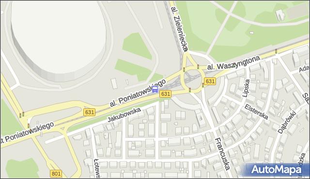 Przystanek rondo Waszyngtona 05. ZTM Warszawa - Warszawa (id 213105) na mapie Targeo