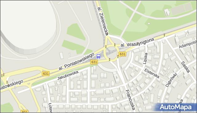 Przystanek rondo Waszyngtona 07. ZTM Warszawa - Warszawa (id 213107) na mapie Targeo