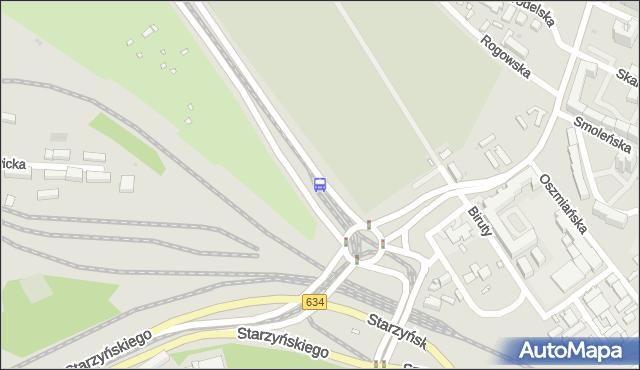 Przystanek rondo Żaba 04. ZTM Warszawa - Warszawa (id 107704) na mapie Targeo