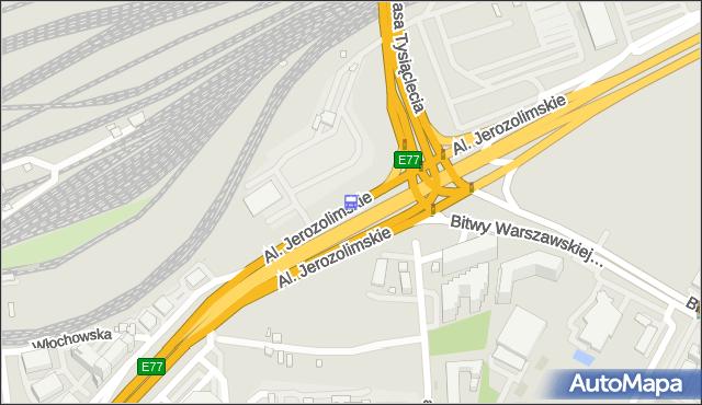 Przystanek rondo Zesłańców Syberyjskich 02. ZTM Warszawa - Warszawa (id 404502) na mapie Targeo