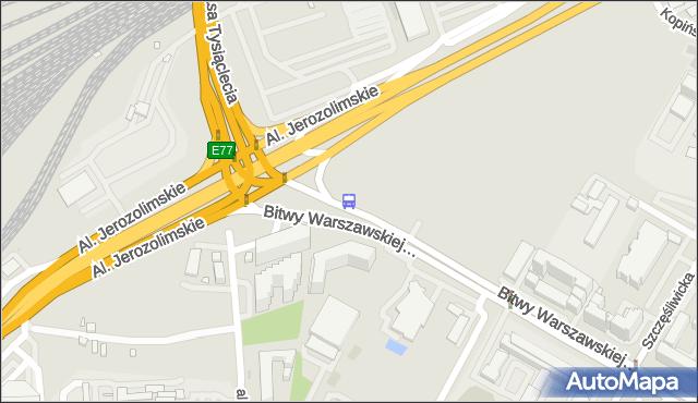 Przystanek rondo Zesłańców Syberyjskich 04. ZTM Warszawa - Warszawa (id 404504) na mapie Targeo
