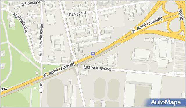 Przystanek Rozbrat 02. ZTM Warszawa - Warszawa (id 707102) na mapie Targeo
