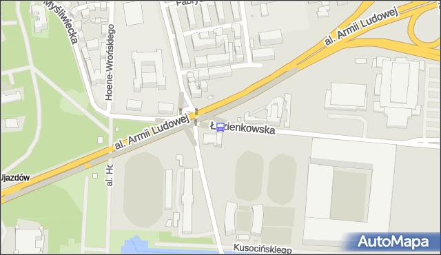Przystanek Rozbrat 05. ZTM Warszawa - Warszawa (id 707105) na mapie Targeo