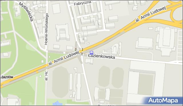 Przystanek Rozbrat 06. ZTM Warszawa - Warszawa (id 707106) na mapie Targeo