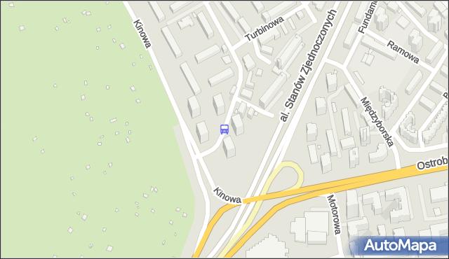 Przystanek Rozłucka 02. ZTM Warszawa - Warszawa (id 213602) na mapie Targeo