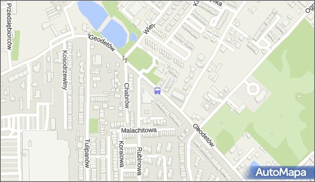 Przystanek Rubinowa 01. ZTM Warszawa - Warszawa (id 335201) na mapie Targeo