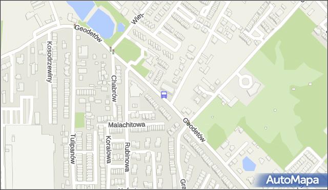 Przystanek Rubinowa 02. ZTM Warszawa - Warszawa (id 335202) na mapie Targeo