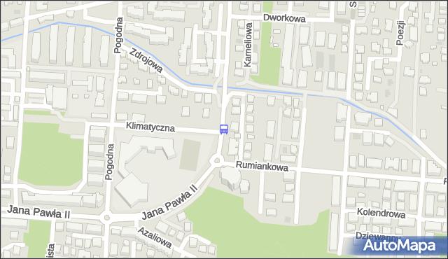 Przystanek Rumiankowa 02. ZTM Warszawa - Warszawa (id 234902) na mapie Targeo